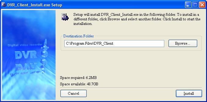 Dvrclient plugin